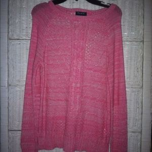 Pink Girls Sweater